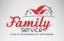 Логотип Family service, агентство