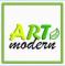 Логотип Артмодерн, дизайн-студия
