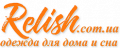 Логотип RELISH.com.ua, интернет-магазин